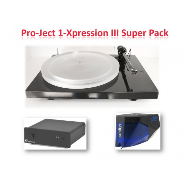Platine vinyle PRO-JECT 1-Xpression III Super Pack