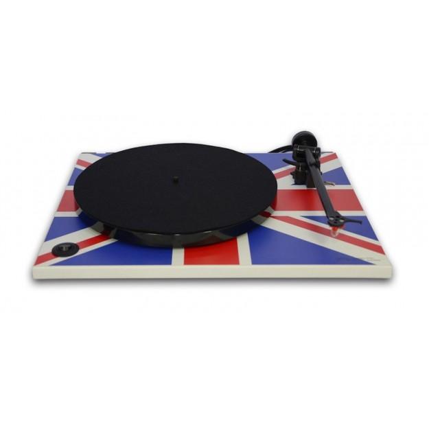 Platine vinyle REGA RP1 Union Jack avec kit RP1 Haute Performance