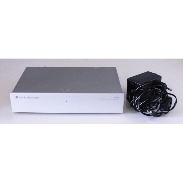 Occasion Préampli Phono MM/MC Cambridge Azur 640P-S Silver
