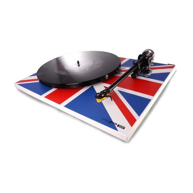 Platine vinyle manuelle Rega RP6 Union Jack