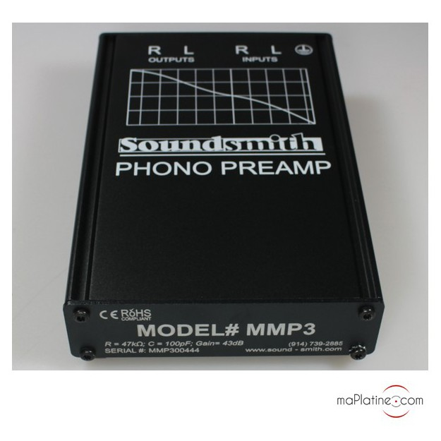 Préamplificateur SoundSmith MMP-3