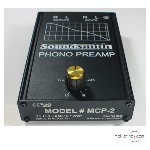 Préamplificateur SoundSmith MCP-2