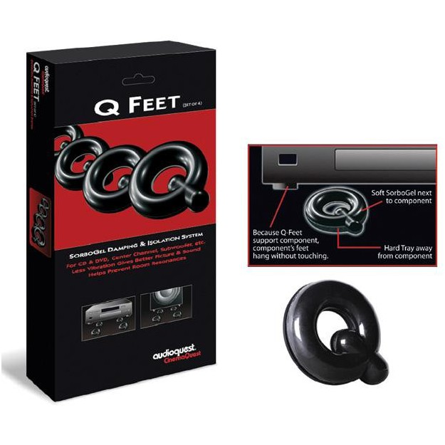 SORBOGEL Audioquest - Qfeet System