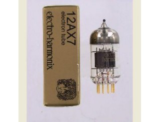 Tube audio double triode 12AX7-EH Gold Electro Harmonix