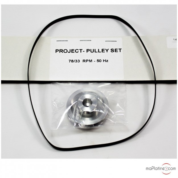 78RPM Pulley Set Pro-Ject