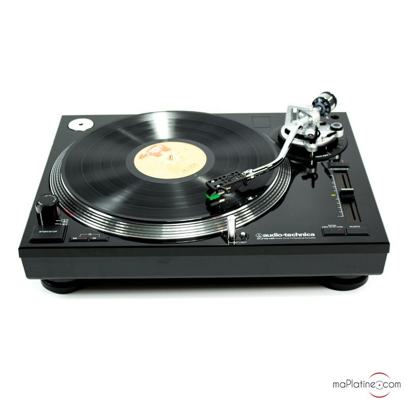 platine vinyle audio technica at lp120 usb hc. Black Bedroom Furniture Sets. Home Design Ideas