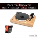 Pack Platine vinyle Pro-Ject X-tension 9 - Cadenza Red edition - Olive