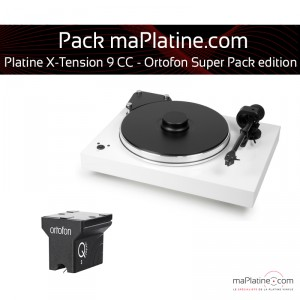 platine vinyle pro ject x tension 9 ortofon super pack edition blanc. Black Bedroom Furniture Sets. Home Design Ideas