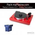 Platine vinyle Pro-Ject X-Tension 9 - Ortofon Pack Edition - Rouge