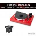 Platine vinyle Pro-Ject X-Tension 9 - Ortofon Super Pack Edition - Rouge
