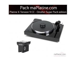 Platine vinyle Pro-Ject X-Tension 9 - Ortofon Super Pack Edition - Noir