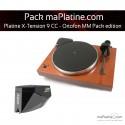 Platine vinyle Pro-Ject X-Tension 9 - Ortofon MM Pack Edition - Mahogany