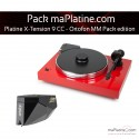 Platine vinyle Pro-Ject X-Tension 9 - Ortofon MM Pack Edition - Rouge