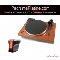 Pack Platine vinyle Pro-Ject X-tension 9 - Cadenza Red edition - Mahogany