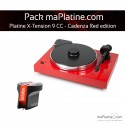 Pack Platine vinyle Pro-Ject X-tension 9 - Cadenza Red edition - Rouge
