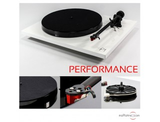 Platine vinyle REGA Planar 1 Performance Pack - Blanc