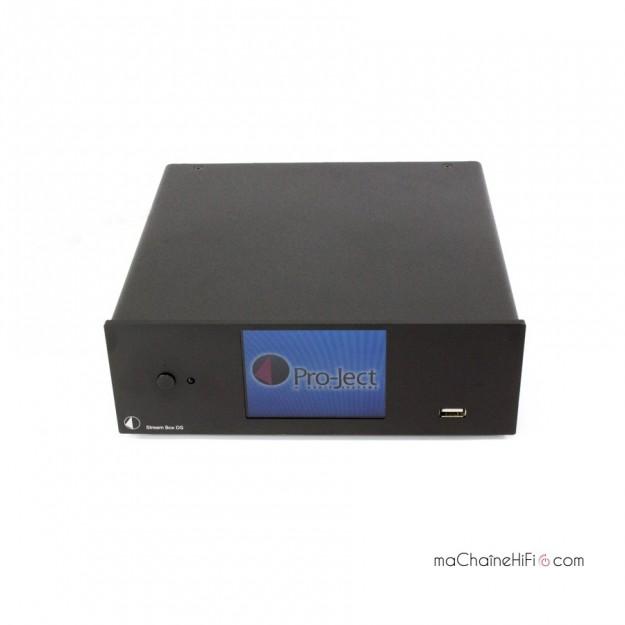 Lecteur réseau Pro-Ject d'occasion Stream Box DS Net - noir