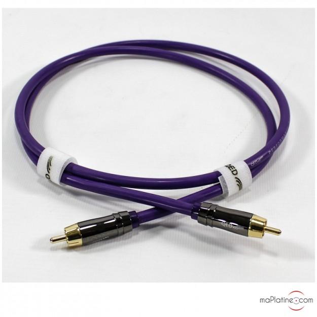Câble numérique coaxial QED Performance Digital Audio