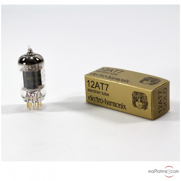 Tube audio double triode 12AT7-EH Gold Electro Harmonix