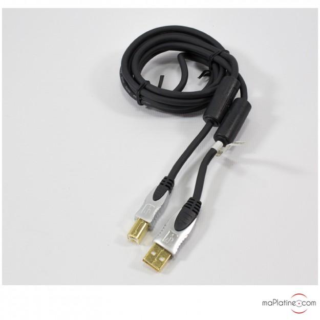 Câble USB audio 2.0 HQ silver series