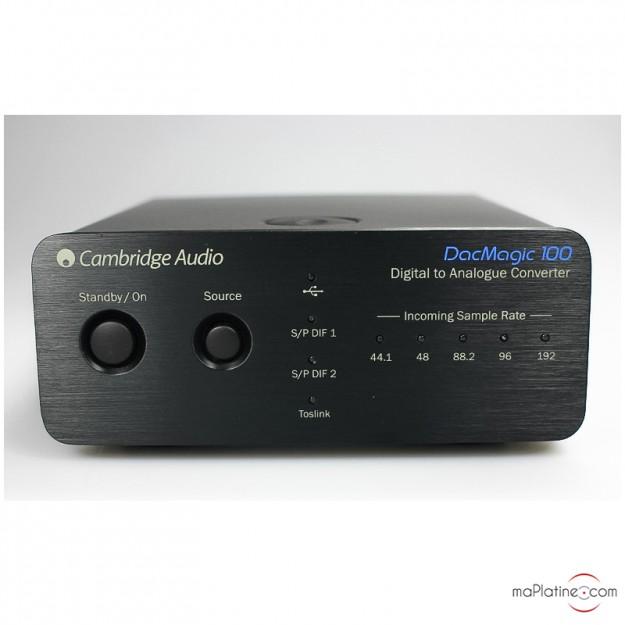 Dac Cambridge Audio Dac Magic 100 Maplatine Com