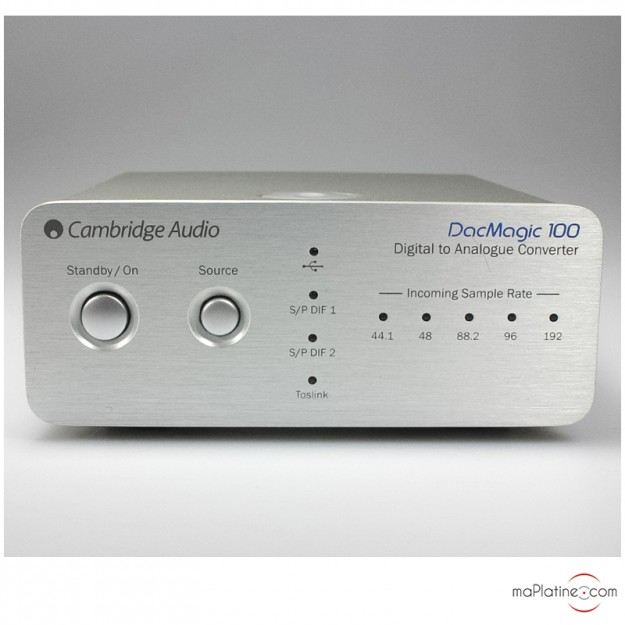 DAC (convertisseur numérique analogique) Cambridge Audio Dac Magic 100