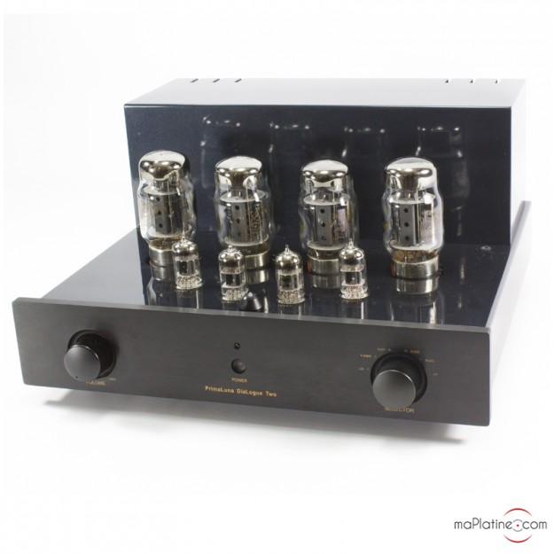 Amplificateur intégré à lampes d'occasion Prima Luna Dialogue Two