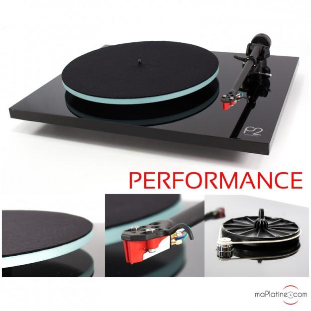 Platine vinyle REGA Planar 2 Performance Pack - Noir