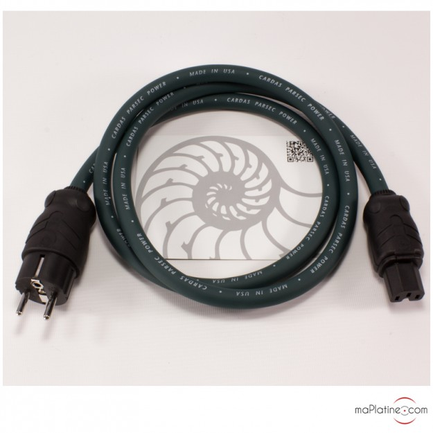 Câble d'alimentation Cardas Parsec Power