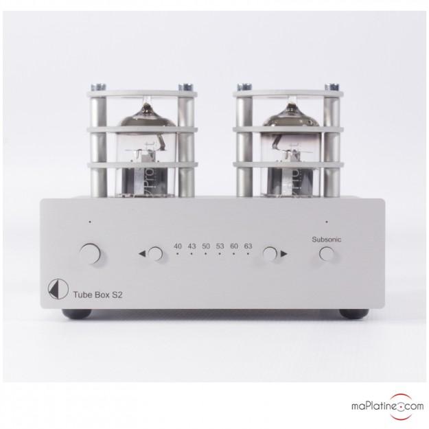 Préamplificateur phono Pro-Ject Tube Box S2
