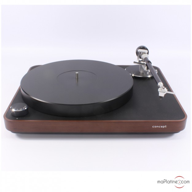 Platine vinyle manuelle Clearaudio Concept MM WOOD