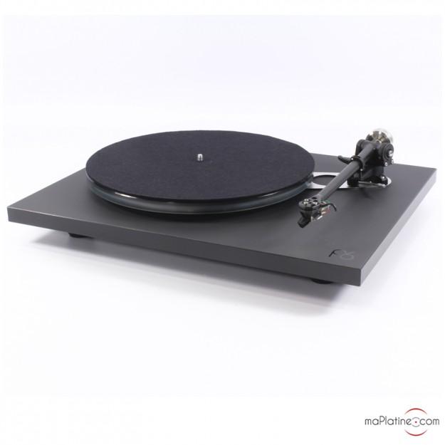 Platine vinyle Rega Planar 6 + NeO PSU avec cellule Ania - Noir