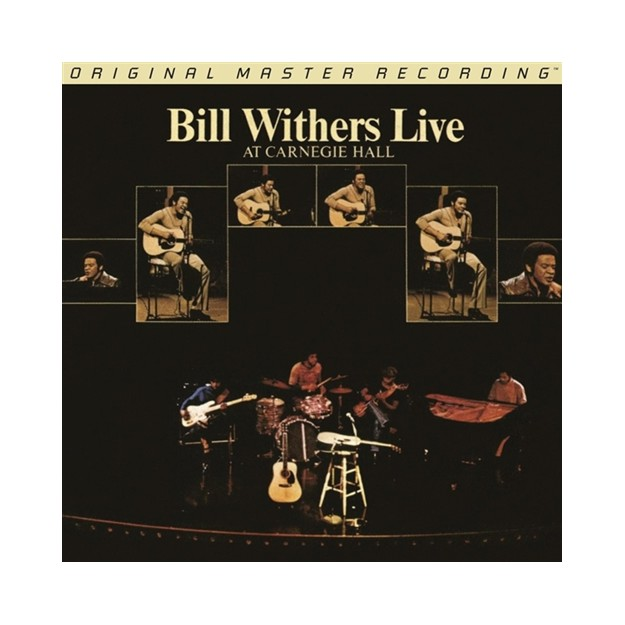 Disque vinyle Bill Withers - Live at Carnegie Hall - 2LPs - LMF446-2