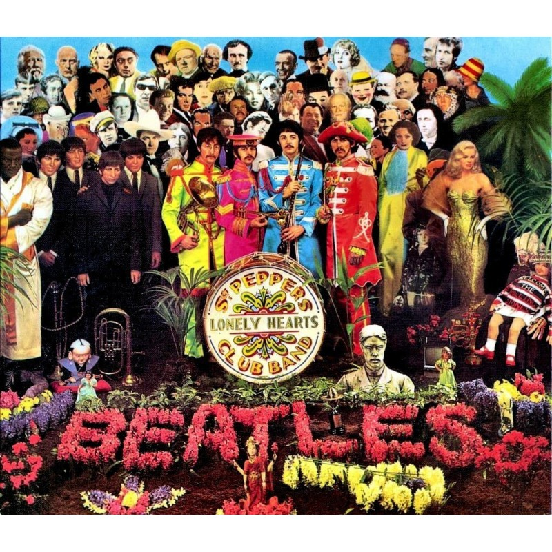 Disque vinyle The Beatles - Sergent Pepper's Lonely Heart Club Band -  maPlatine.com