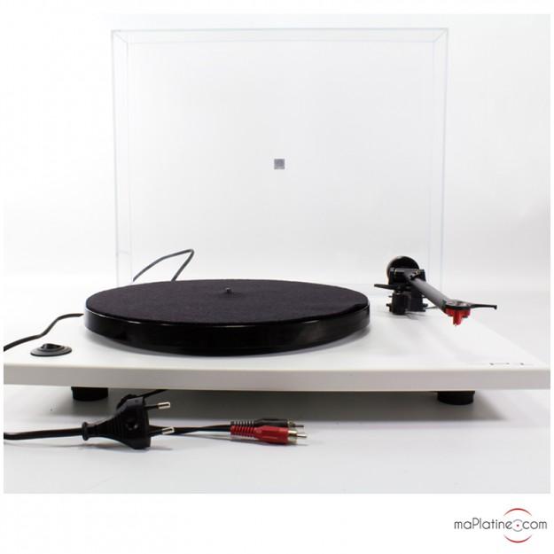 Platine vinyle d'occasion Rega RP1 - Blanc
