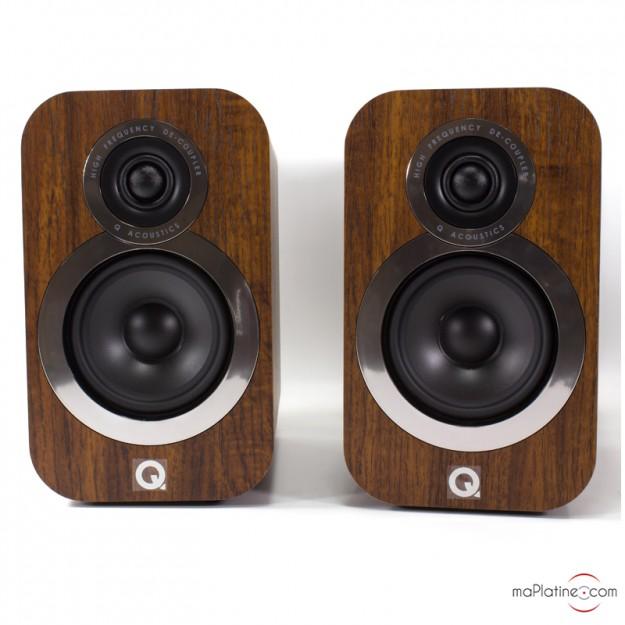 Enceintes de bibliothèque Q Acoustics 3010i NEW