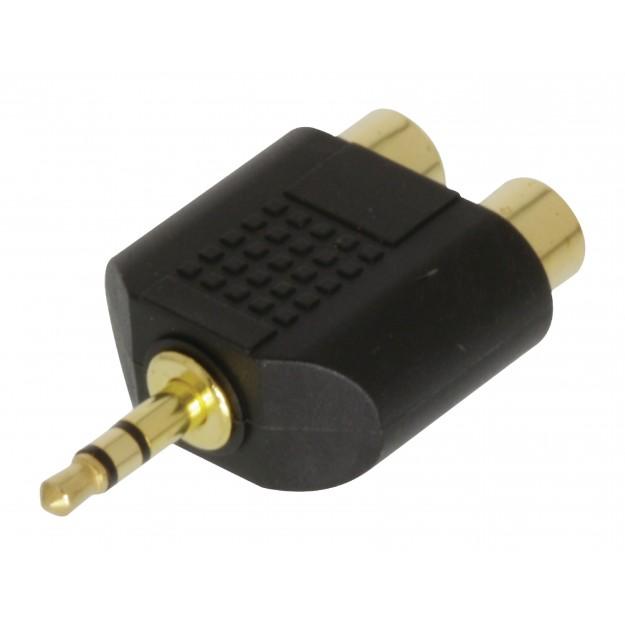 Adaptateur stéréo RCA/Mini Jack