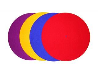 Couvre-plateau couleur pour platine vinyle REGA