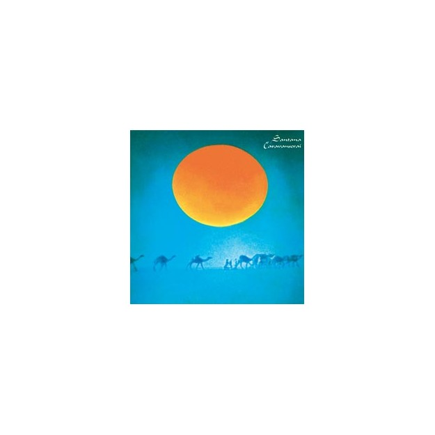 Disque vinyle Santana - Caravanserail - KC31610