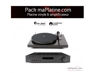 Pack Platine vinyle + amplificateur maPlatine.com