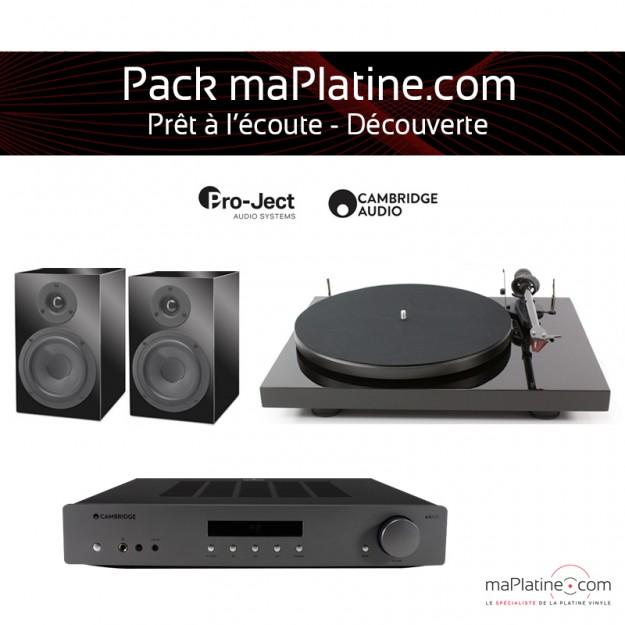 Pack Prêt à l'écoute Découverte A maPlatine.com