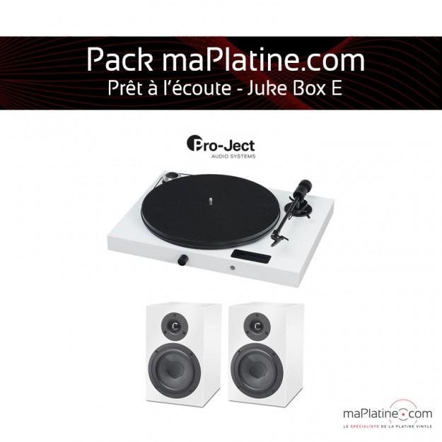 Pack prêt à l'écoute Juke Box E - Blanc