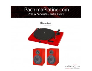 Pack prêt à l'écoute Juke Box E - Rouge