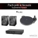 Pack prêt à l'écoute Supersense System - noir