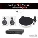 Pack prêt à l'écoute Supersense System - blanc