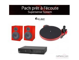 Pack prêt à l'écoute Supersens - rouge