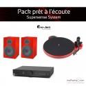 Pack prêt à l'écoute Supersense System - rouge