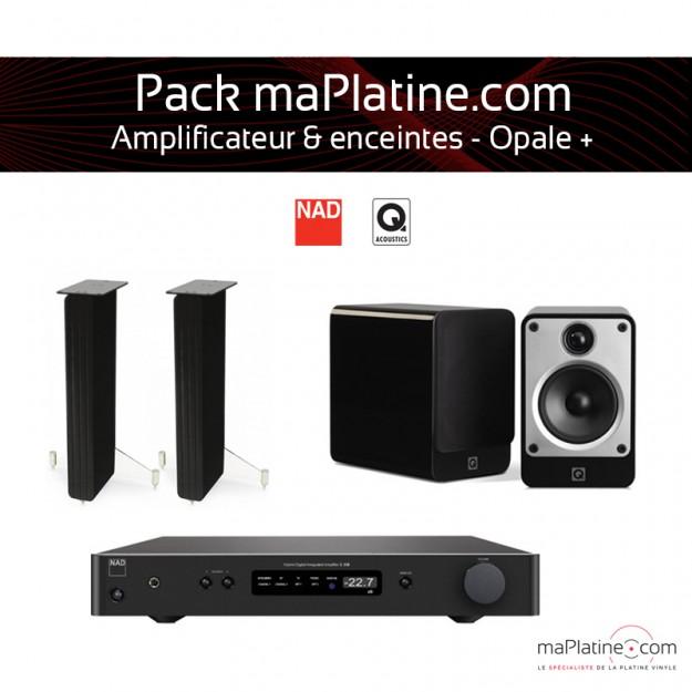 Pack ampli & enceinte - Opale+