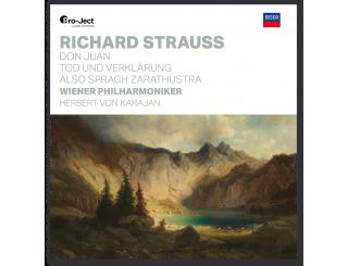 Disque vinyle Richard Strauss - Don Juan, Tod und Verklärung, Also sprach Zarathustra
