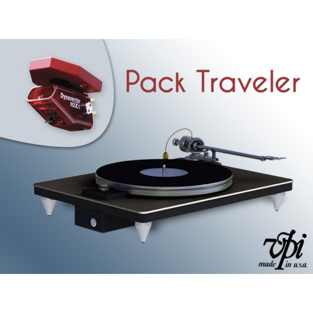 Pack platine vinyle VPI The Traveler